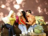 Hot Rancher And His Wife Having Fun Over Young Girls Body
