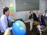 Sexual Education Class Leads Into Hard Fuck