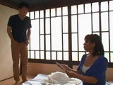 Son Decided To Confess His Mature Step Mom Chizuru Terashima That He Cant Live Anymore Without Her Pussy